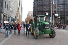 Butler's own Farm Kings, followed by our tourism truck in the Pittsburgh Macy's Day Parade!