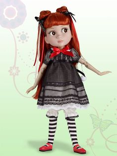 """or 12/"""" slim doll 12/"""" Marley 1 Pr White Tights for  14/"""" Patience"""