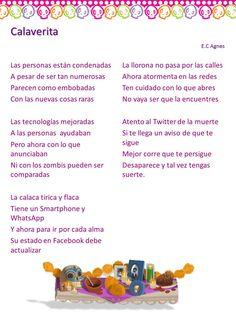 Calaveras Literarias Noviembre 2013 TICs