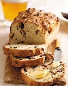 Easy Food Recipes and Cooking - Biltong and Beer Bread 10 – 12 Slices