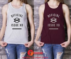 Official Issue XO, The Weeknd OVOX, Drake xo the weeknd for Men Tank Top, Ladies Tank Top, Adult Tank Top - TeesCase