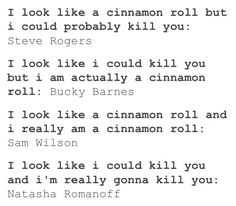This is seriously what I think when I saw CA TWS. And when I read Stucky FanFiction...