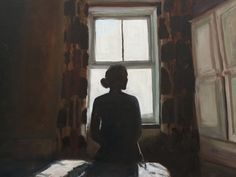 Ella Webber - Figure in contre jour - oil paint. Class Of 2018, Painting, Art, Art Background, Painting Art, Kunst, Paintings, Performing Arts, Painted Canvas