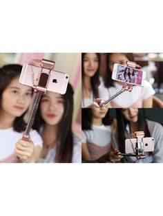 Snap beautiful selfies and stunning panoramic shots with a selfie stick, coming with an LED light and a powerful battery. Selfie Stick, Cell Phone Accessories, Ios, Android
