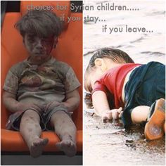 Whose heart wouldn't bleed when you think of so many innocent children dying from the horrors of war?