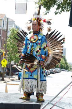 Baltimore American Indian Center Performance at Wolfest 2012. Credit: Baltimore American Indian Center
