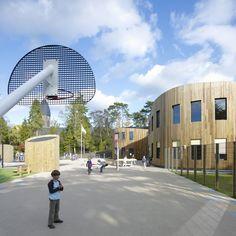 Schoolplein, basisschool St. Theresia, Bilthoven.