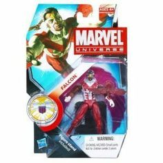 Marvel Universe 3 3/4 Inch Series 14 Action Figure Falcon by Hasbro. $9.95. Series 3 Figure 13. The heroes and the villains of the Marvel Universe make the leap from the comic books to your action figure collection with these allnew Marvel Universe Action Figures! Each figure stands 3 3/4 tall and comes with accessories to save the day  or conquer the world!
