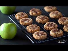 Ιδέες για κολατσιό: Υγιεινά μπισκότα με μήλο και κανέλα.