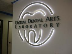 Fabulous Dental Office Names Clinic Interior Design, Clinic Design, Dental Art, Dental Office Design, Dental Business Cards, Dental Clinic Logo, Dental Office Decor, Monument Signs, Dental Laboratory
