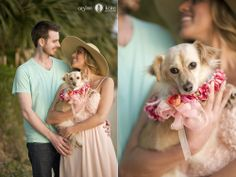 Engagement portraits  |  Bar pictures  |  Bar themed engagement portrait  |  Picnics  |  Beach engagement portraits  |  Engagement portraits with dogs  |  Black and white  |  Romantic pictures  |  Floral dog collars  |  Dogs in weddings  |  Pensacola Photographers  |  AISLINN KATE PHOTOGRAPHY