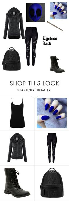 """Eyeless Jack"" by rossbones13 ❤ liked on Polyvore featuring M&Co, women's clothing, women's fashion, women, female, woman, misses and juniors"