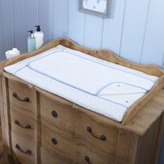 This luxurious Terry Towelling Changing Mat is made with the delicate Stars and Stripes fabric in baby pink. A unique design made with two layers of towelling so it can still be used when the top layer needs washing. Changing Unit, Baby Changing Mat, Moses Basket, Terry Towel, Baby Cover, Soft Furnishings, Stripes, Stars, Design