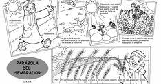 Fuente: dibujosparacatequesis                    Fuente: elrincondelasmelli           Un día se congregó un gran número de per...