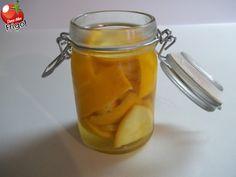 Dans mon frigo: Vinaigre parfumé à l'orange pour le nettoyage
