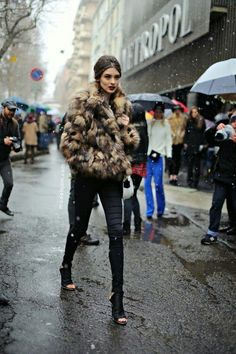 shoes style chic black outfit streetstyle fur coat outfits pants street fashion