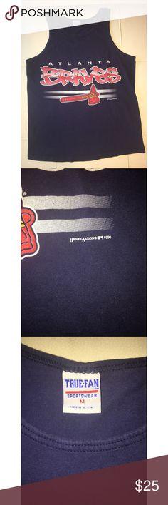 1996 Atlanta Braves Tanktop Size Medium. Vintage 1996 Shirts Tank Tops
