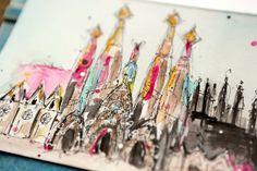 Junelle Jacobson take on Sagrada Familia by Antonio Gaudi