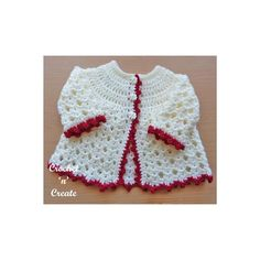 Baby Crochet Cardigan Pattern Etsy Ideas For 2019 Crochet Baby, Crochet For Kids, Hand Crochet, Free Crochet, Crochet Picot Edging, Crochet Patterns For Beginners, Baby Knitting Patterns, Crochet Cardigan Pattern, Sweater Patterns