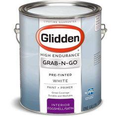 Glidden High Endurance Grab-N-Go White Interior Paint