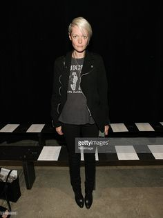 Kate Lanphear attends Narciso Rodriguez during Mercedes-Benz Fashion Week Spring 2015 at SIR Stage 37 on September 9, 2014 in New York City.