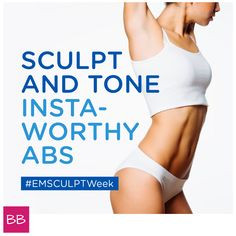 National #EmsculptWeek is May 20-24 - don't miss out! Discover how #Emsculpt can help you sculpt and tone insta-worthy abs. Find out more and locate a provider near you at emsculpt.com #BTLAesthetics #Emsculpt #Sponsored
