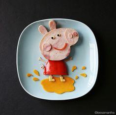 Samantha Lee, food artist #unamamanovata #recetas #samanthalee ▲▲▲ www.unamamanovata.com ▲▲▲