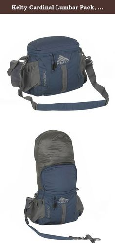 Kelty Cardinal Lumbar Pack, Indigo, One Size. The Cardinal combines the storage of a top-loading pack and the versatility of a low-profile, hip-worn lumbar pack in a single package by incorporating a convertible design. The Cardinal can be used as a day pack, lumbar pack, or slung around the shoulder with the removable, adjustable, padded shoulder strap. The front pocket is perfect for small items that you need to keep handy and the two water bottle pockets on the side will hold most any...