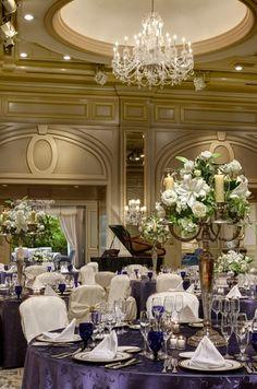 ホテル椿山荘東京(Hotel Chinzanso Tokyo) 優雅で気品溢れる「ボールルーム」