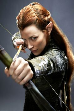 Evangeline Lilly as Tauriel                                                                                                                                                                                 More