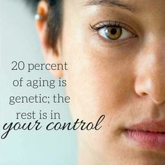 80% is within your control. Try Rodan and Fields for outstanding results.