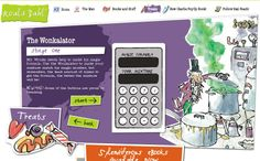 Wonkalator - Activity from the Roald Dahl Website