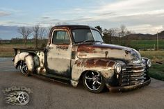 A good looking bad as truck with Coys C-5 black chrome wheels!!!