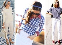 Need some Fourth of July outfit ideas to look gorgeous and stylish at your Independence Day party? Here is a list of 6 non-obvious 4th of July look ideas!
