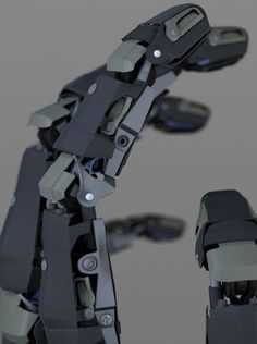 mechanical arm 3d - Google Search