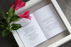 Framed wedding waltz lyrics is a memorable and meaningful wedding gift for the new couple. / Kehystetty häävalssi on ihana häälahjaidea.