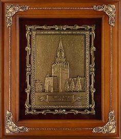 Деревянная ключница Спасская башня - Деревянные ключницы большие <- Шкатулки и бары - Каталог | Универсальный интернет-магазин подарков и сувениров