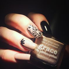 Love Grace and nail stamping