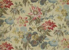 french+floral+wallpaper | French antique floral textile