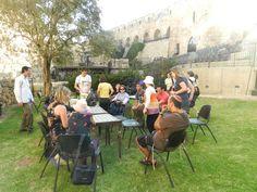Encontro de brasileiros em Jerusalém