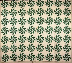 Quilt made in Western Ontario, Canada, c. 1920.  Maker unknown.
