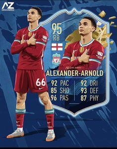 Alexander Arnold, Fifa, Ynwa Liverpool, Ea Sports, Arsenal Football, Sports Photos, Cool Pictures, Football Drawings, Baseball Cards