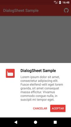 marcoscgdev/DialogSheet: An Android library to create fully material designed bottom dialogs similar to the Android Pay app.