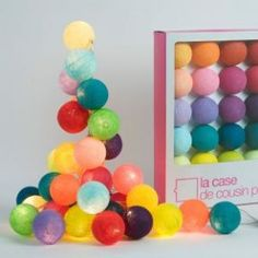 Ball Lights - La Case de Cousin Paul string lights multicoloured - Petit Home