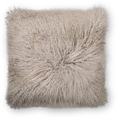 Sheepskin Stone Cushion