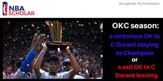 It´s do or doom for the #OKC - #Durant collaboration: http://www.nbascholar.com/2015/09/27/next-okc-season-a-victorious-ok-to-c-durant-staying-as-champion-or-a-sad-ok-to-c-durant-leaving/