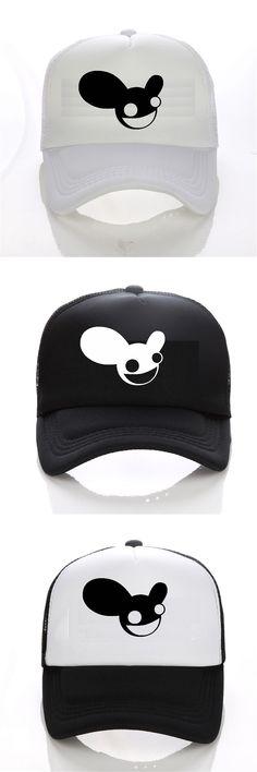 Deadmau 5 Logo Baseball cap women Funny Printed baseball cap men