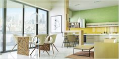 Kitchen Decor Ideas   modern kitchens   Contemporary furniture   The best kitchen design ideas for your home!  In this project I used Artemide, Ross Gardam, Bonaldo, Zanotta, Boconcept, Shelmann etc.The materials like leather, wood and decorative stone were used in the interior of this apartament .#kitchen #interiors