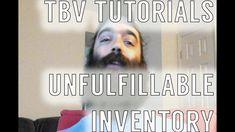 TBV Tutorials: Inventory Tabs