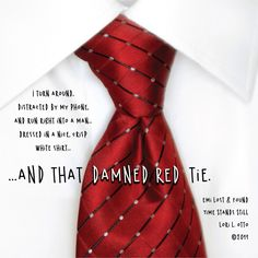 That damned red tie...